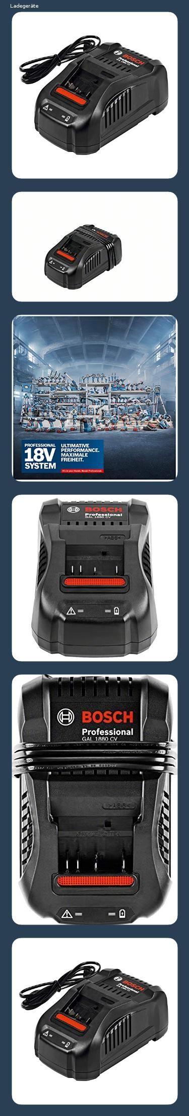 23 Billiger Von 63 49 Auf 48 79 Bosch Professional 18v System Ladegerat Gal 1880 Cv Im K Bosch Professional Bosch Akku Ladegerat