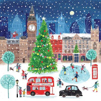 Joanne Cave Advocate Art In 2020 London Christmas Christmas Scene New York Christmas