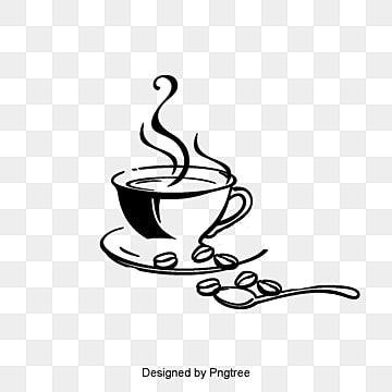 ناقلات فنجان القهوة و البن قدح القهوة Clipart قدح ناقلات فنجان القهوة Png وملف Psd للتحميل مجانا Logotipo De Cafe Cafe Desenho Graos De Cafe