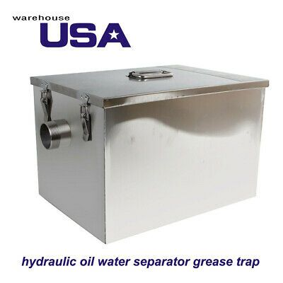Sponsored Ebay Us Brand New Grease Trap Cooking Oil Water