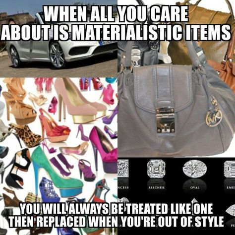 Materialistic Girl Female Materialistic People Materialistic
