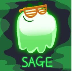 Sage From Team Green On The Great Ghoul Duel Google Doodle 2018 Halloween Halloween Doodles Team Green