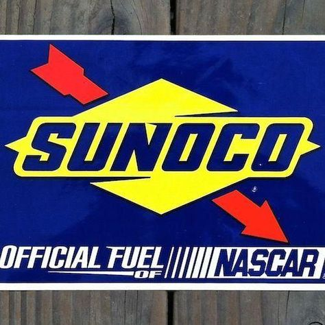 Sunoco Race Fuels Oil Gasoline Repro Advertising Sign Garage Shop 12x12 50075 Oil Company Ebay Advertising Signs