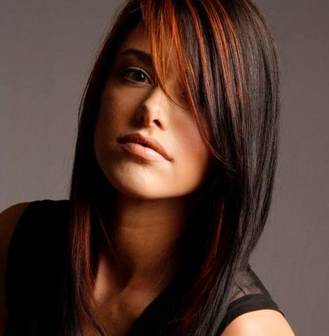 Indian Haircuts For Long Hair Oval Face Long Hair Highlights Haircuts For Long Hair Medium Hair Highlights