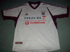 c272e11cd08 2001 2002 Benfica Adults XL Away Football Shirt Top Camiseta