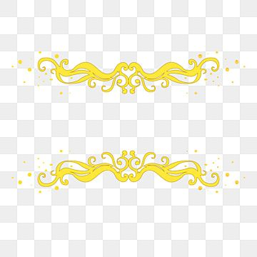 Gold Pattern Dividing Line Golden Pattern Shading Png And Vector With Transparent Background For Free Download Wedding Symbols Gold Pattern Gold Texture