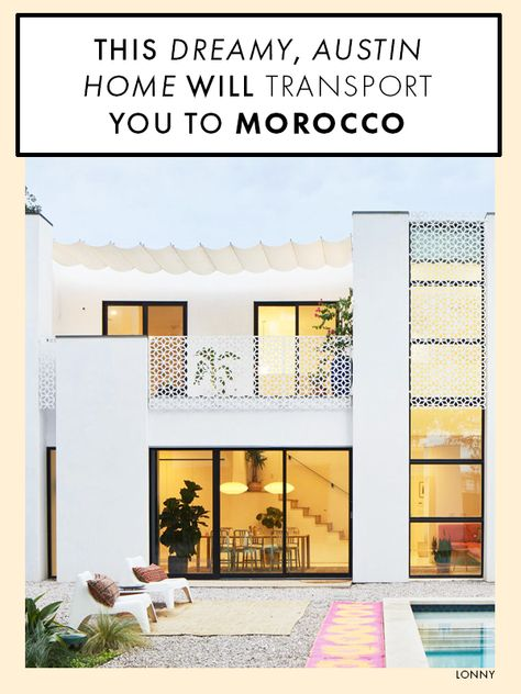A Moroccan-inspired Texan abode with lots of great ideas.
