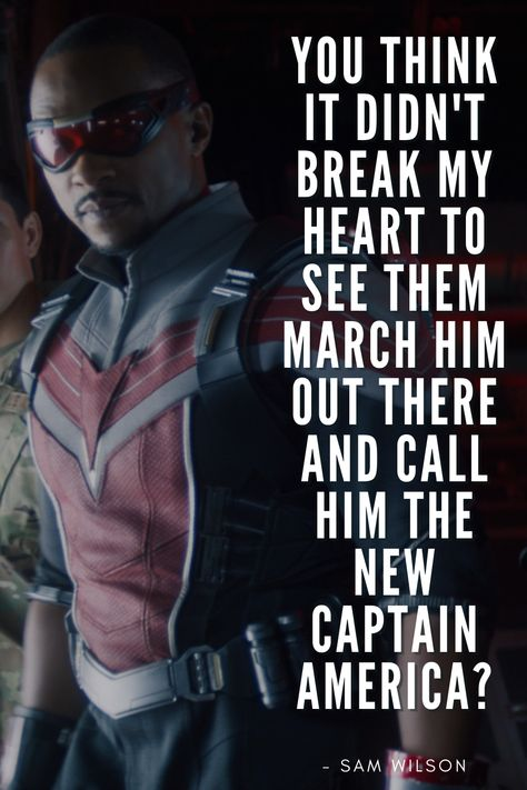 The Best Quotes from The Falcon and the Winter Soldier (Marvel Series)