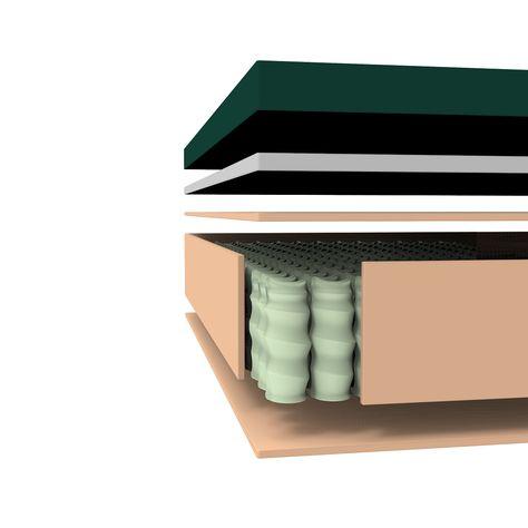 Cooling Gel Memory Foam Icoil Hybrid Queen Mattress In 2020 Gel