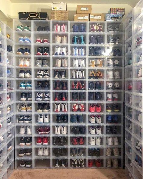 Small Drop Front Shoe Box Shoe Box Storage Closet Shoe Storage Shoe Organization Closet
