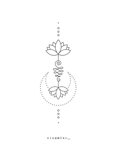 〰️unalome_lotus_sacred_geometry_spiritual_tattoo_design #coolgeometrictattos #design #geometry #lotus #sacred #spiritual #tattoo #unalome #unalometattoo