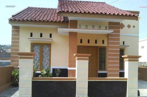 Gambar Kombinasi Cat Rumah Warna Cream Dan Orange Terbaik Berikut Inspirasi Kombinasi Cat Rumah Warn In 2020 Minimalist House Design Modern House Design Simple House