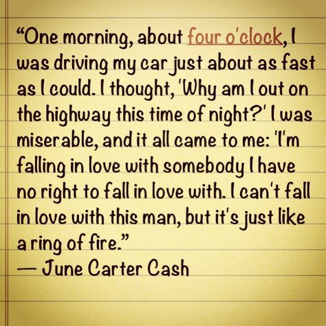 Oh For A Love Like Johnny And June Quotes Johnny Cash