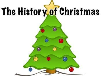History Of Christmas Christmas Tree Clipart Christmas Tree Coloring Page Christmas Classroom