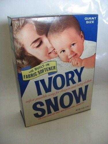 Fantastic Vintage Nos Box Ivory Snow Laundry Soap Powder Proctor Forskolin Free Trial Chair Design Images Forskolin Free Trialorg
