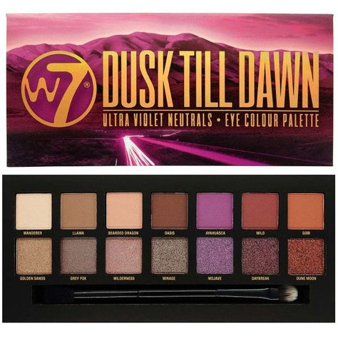 Up To 12% Off W7 Cosmetics Eyeshadow Pallettes | Groupon