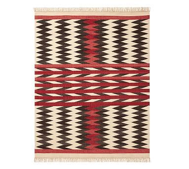 Andie Eco Friendly Synthetic Rug Red Multi Synthetic Rugs Rugs Neutral Rugs