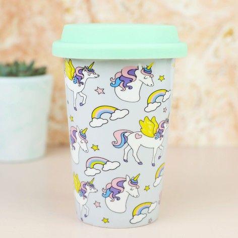 Unicorn Ceramic Travel Mug At Lisaangel Co Uk Mugs Travel Mug Unicorn