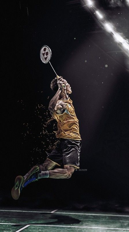 Lee Chong Wei Badminton Poster By Robspink Badminton