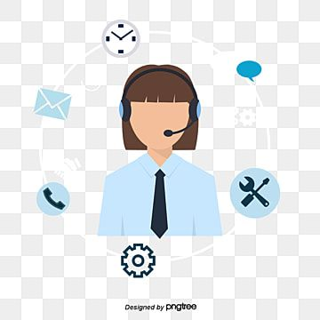 Customer Service Icon Icon Personnel Customer Service Png Transparent Clipart Image And Psd File For Free Download Service Logo Background Banner Icon