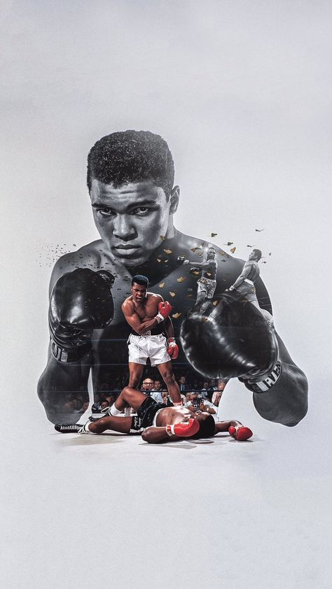 Boxer Ali iPhone Wallpaper - Best of Wallpapers for Andriod and ios Sports Graphic Design, Graphic Design Posters, Graphic Design Inspiration, Photoshop Design, Conception Photoshop, Muhammad Ali Boxing, Boxing Posters, Sports Posters, Movie Posters