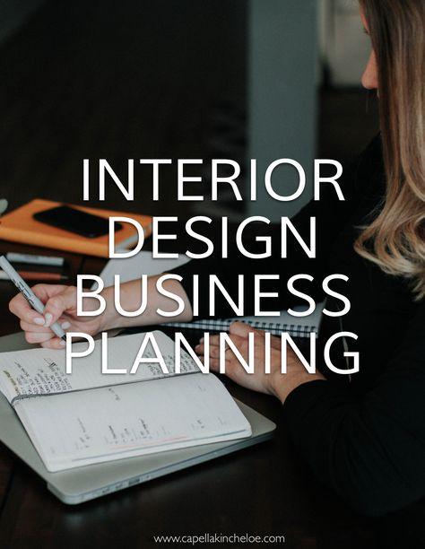 2019 Interior Design Business Planner — Capella Kincheloe