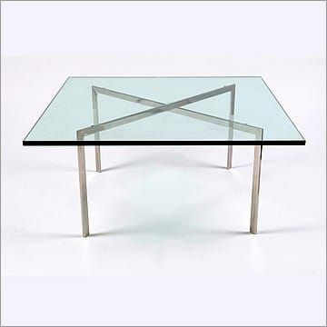 Mies Van Der Rohe Style Exhibition Coffee Table Modern Table
