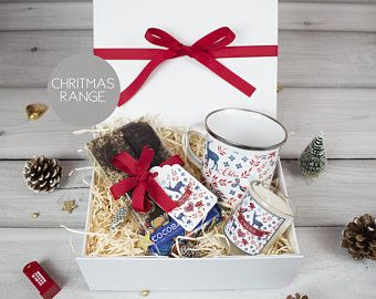 Personalised Christmas Gift Box Personalised Gift Christmas Etsy In 2020 Personalized Christmas Christmas Gift Sets Personalized Christmas Gifts
