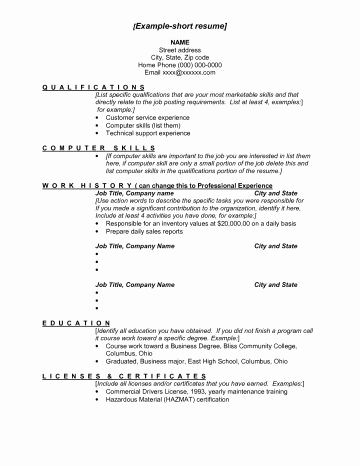 77 Beautiful Collection Of Military Administration Resume Examples