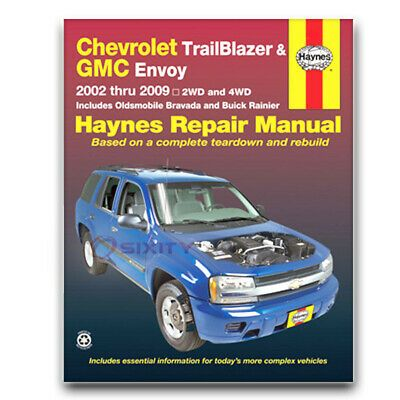 Haynes Repair Manual For 2002 2006 Chevrolet Trailblazer Ext Shop Service Gf Ebay Chevrolet Trailblazer Chevy Trailblazer Trailblazer
