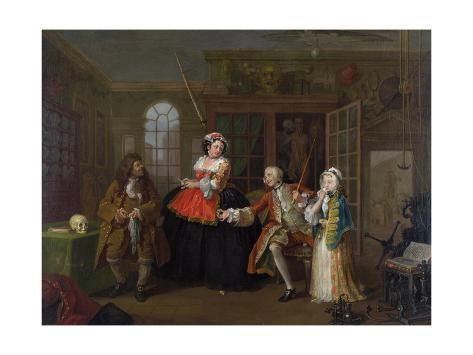 Giclee Print Marriage A La Mode Iii The Inspection C 1743 By