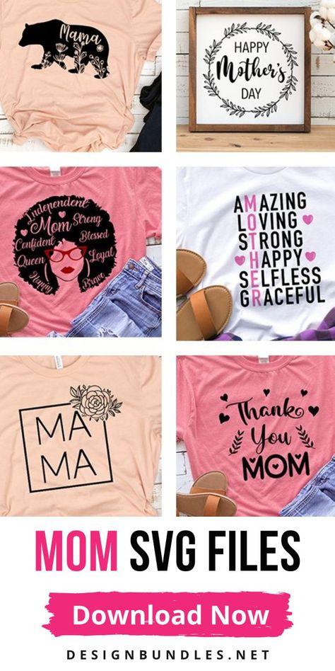 Mothers day SVG designs bundle