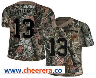 best wholesaler ee2d5 b81c0 Men's New York Giants #13 Odell Beckham Jr Camo Stitched NFL ...