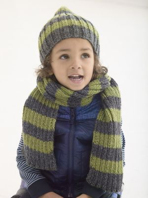 Docklands Hat And Scarf US 8 Needles Child s XS-M (L-XL ... b40ab3e3c37