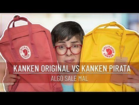 FJALLRAVEN KANKEN ORIGINAL vs COPIA | ALGO SALE MAL - YouTube