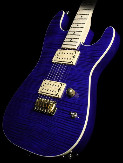 Charvel Custom Shop San Dimas 2h Flame Maple Top Electric Guitar