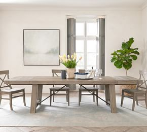 Toscana Extending Dining Table Seadrift Pottery Barn Dining Room Pottery Barn Dining Room Table Extendable Dining Table