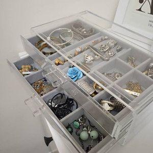 Jewelry Organizer Velvet Tray Jewelry Stand Jewelry Display