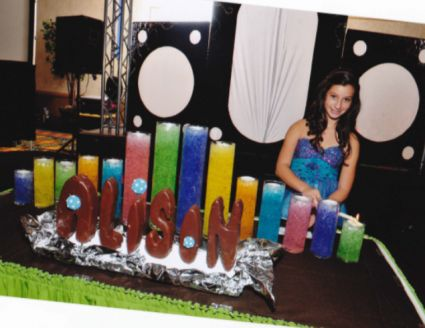Creative Candle Lighting Displays For Your Celebration | Bat mitzvah Bats and Bar mitzvah & Creative Candle Lighting Displays For Your Celebration | Bat ... azcodes.com