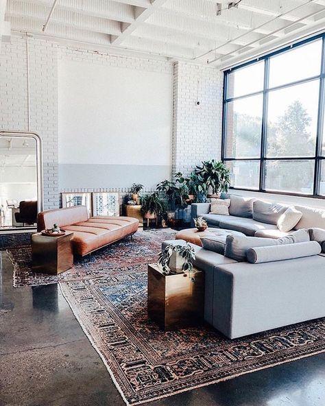 Modern bohemian interior | #opulentmemory