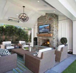 Trendy Covered Patio Furniture Ideas