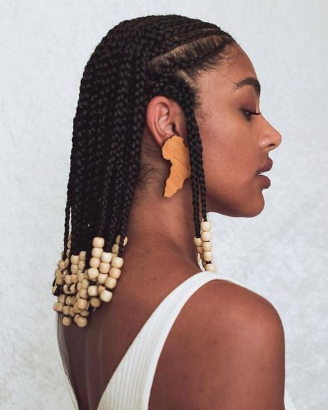 Black Girl Braided Hairstyles, Black Girl Braids, African Braids Hairstyles, Girls Braids, Braids For Black Hair, Protective Hairstyles, Protective Styles, Baddie Hairstyles, My Hairstyle