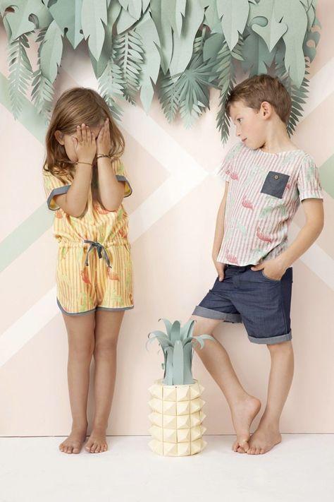 Blune Kids - Paul & Paula #VintageKidsFashion