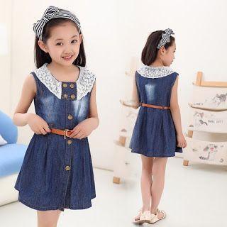18 Vestidos Frescos Y Bonitos Para Ninas Cosas Para Ponerse Vestidos De Ninas Casuales Ropa Para Ninas Y Vestido Infantil
