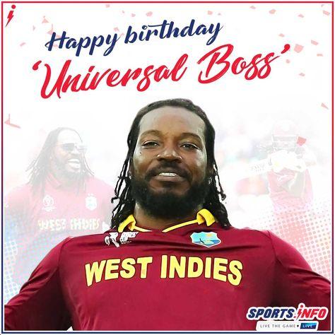 Happy birthday Chris Gayle-Universal Boss