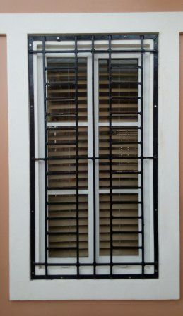 Dogcage Window Grills Gate And Home Service Ironworks Repair Window Grills Design In 2020 Window Grill Design Grill Design Window Grill