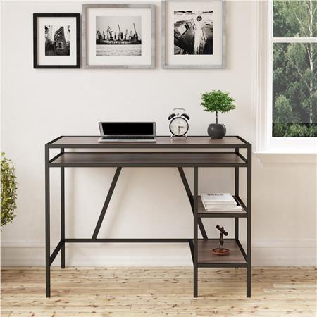 Ameriwood Furniture Brewer Student Desk Distressed Gray Oak Furniture Home Office Furniture Weathered Oak