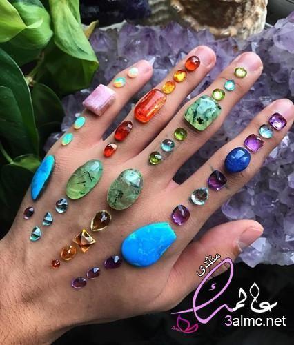 أنواع الأحجار الكريمة الأحجار الكريمة بالصور احجار ملونه جديدة الأحجار الكريمة في مصر Crystals Stones And Crystals Gemstone Art