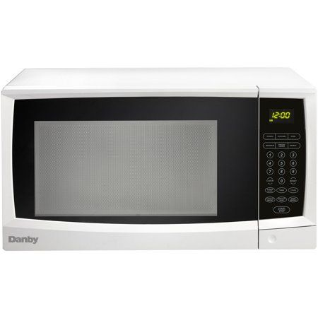 Danby 1 1 Cu Ft 1000w Countertop Microwave Oven In White In 2019