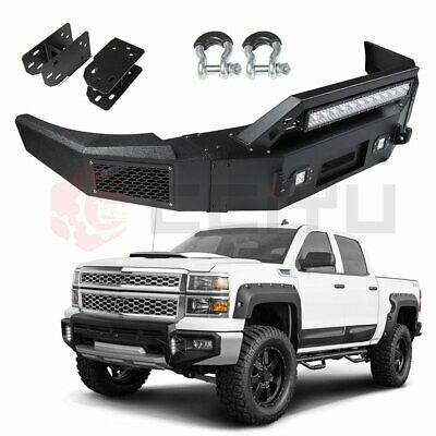 Sponsored Ebay Black Front Steel Step Bumper For Silverado 1500 Sierra1500 07 10 High Q In 2020 Silverado 1500 Silverado 1500 Accessories Gmc Sierra 1500 Accessories